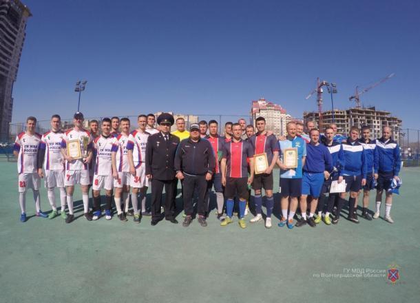 Силовые структуры Волгограда участвовали в соревнованиях по мини-футболу