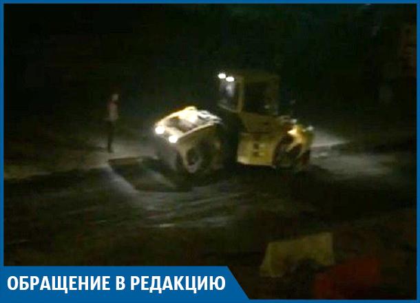 Волгоградцы не могут в 2 часа ночи уснуть из-за дорожного ремонта