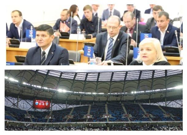Депутаты Волгоградской гордумы решили еще на 3 года освободить от налогов стадион «Волгоград Арена»