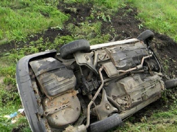 Мужское тело обнаружили 9мая вперевернувшемся авто вВолжском