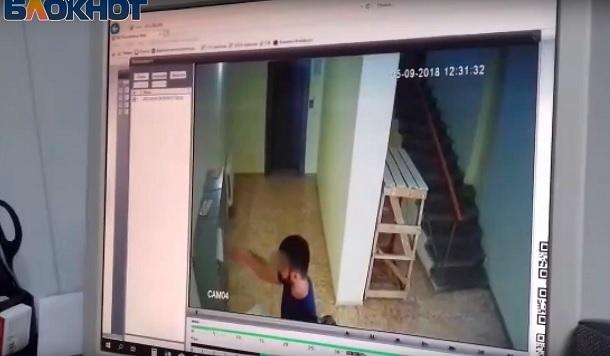 Камера видеонаблюдения зафиксировала вброс незаконных предвыборных листовок на юге Волгограда