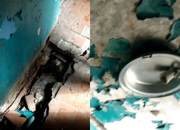 «Бассейн» появился в подвале обычной многоэтажки Волжского