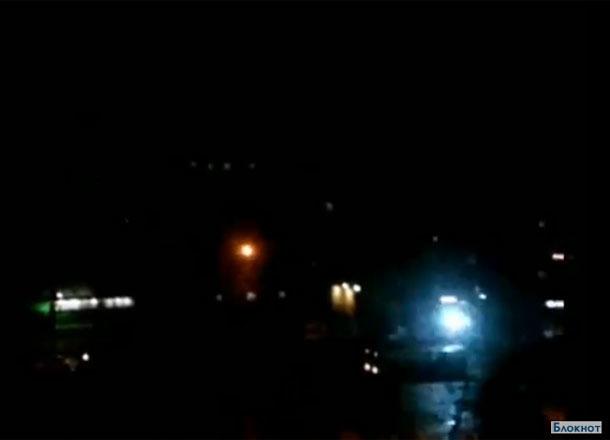 Загадочные голубые вспышки в небе над Волгоградом попали на видео