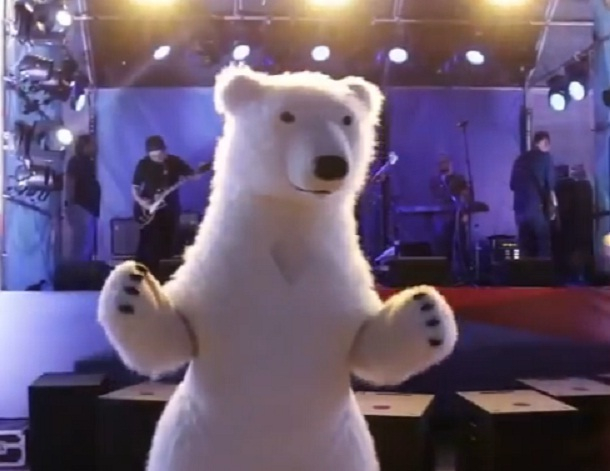 Танцующие мишки дали волгоградцам мастер-класс на концерте в парке «Победа»