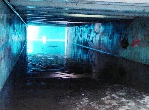 Волгоградские подземные переходы отвоевали у воды