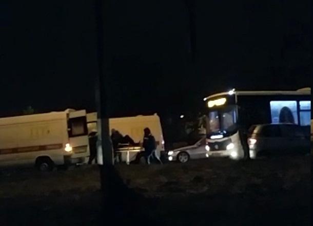 В Волгограде сняли на видео последствия крупной аварии на Красном