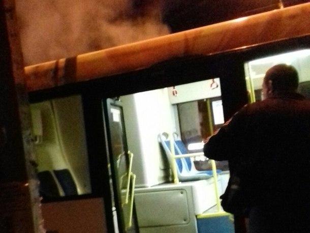 В Волгограде новый автобус «Питеравто» прямо на маршруте заполнился дымом