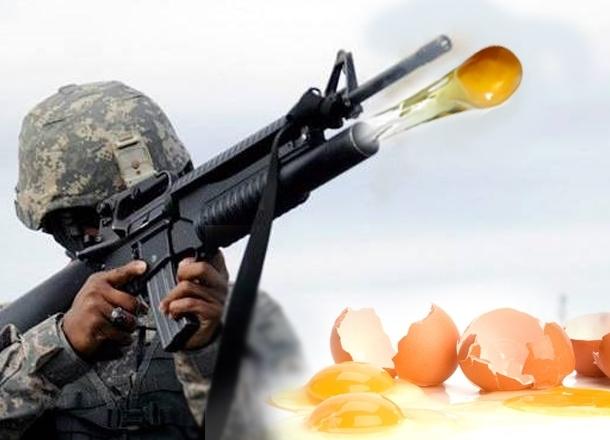 Яйцо стало символом «революции» в Волгограде