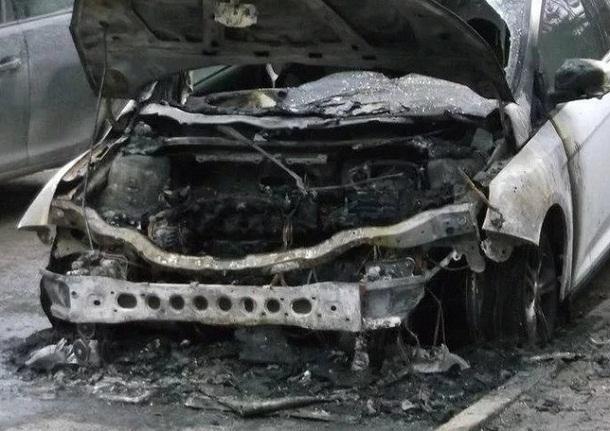 Автоподжигатель отметился в Дзержинском районе Волгограда