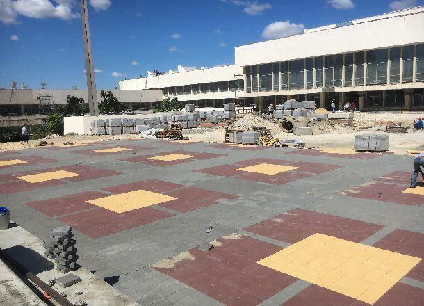 На80% восстановлен «естественный блеск иорнамент» волгоградского ДЮЦа