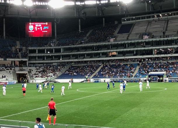 3 домашних матча «Ротора» будут охранять 600 охранников за 4 миллионов рублей