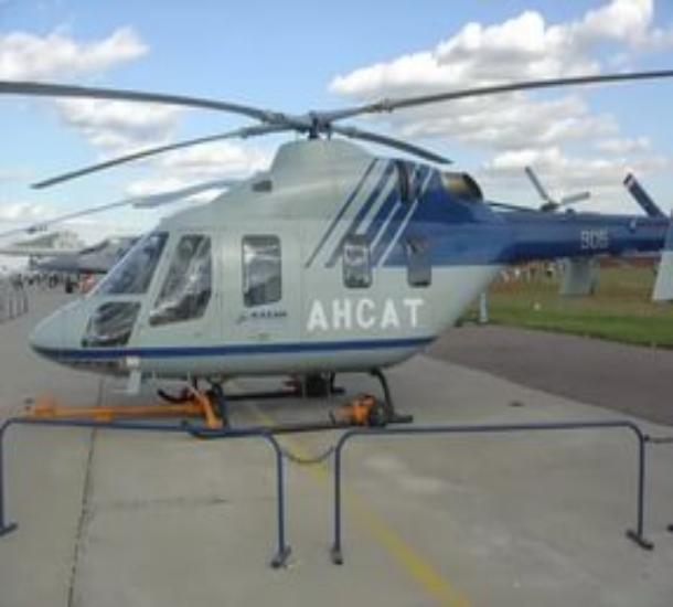 В Волгоград доставлен вертолет «скорой помощи» за 121 млн рублей