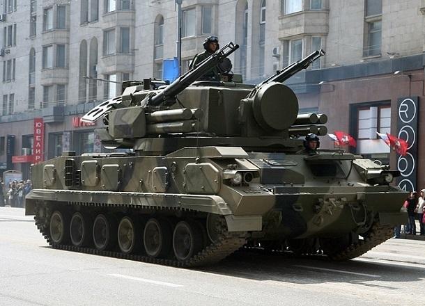 Пушечно-ракетный комплекс «Тунгуска» поставят в центре Волгограда