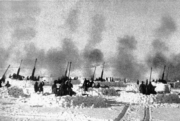 21 января 1943 года - Советское командование ведет активную подготовку ко второму этапу операции «Кольцо» под Сталинградом