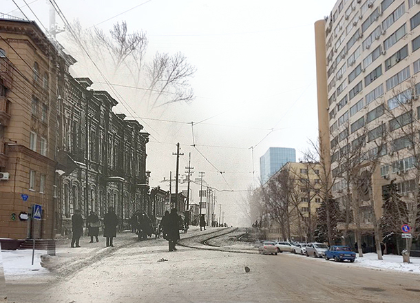 Тогда и сейчас: метаморфозы улицы Советская в Волгограде