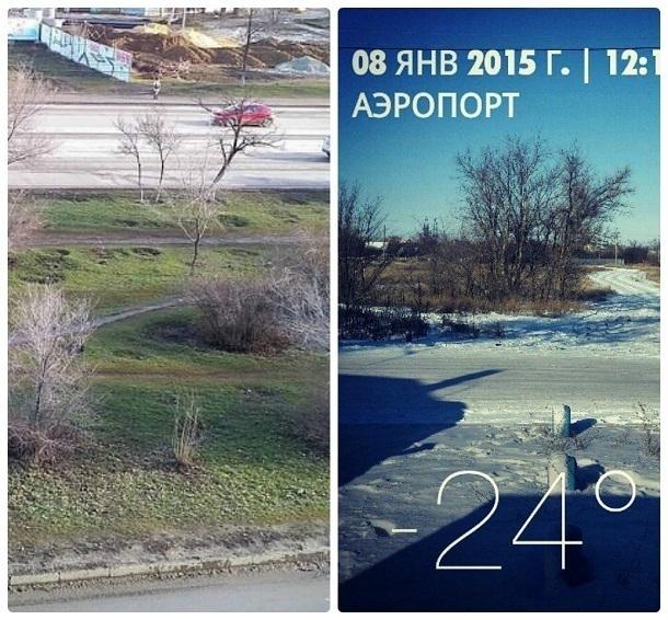Волгоградцы сравнили теплую зиму с тем, что было три года назад