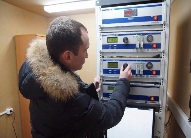 Вцентре Волгограда заработал пост экологического контроля