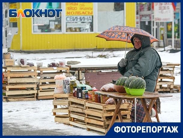 Зима снова накрыла Волгоград: город в объективе фотографа