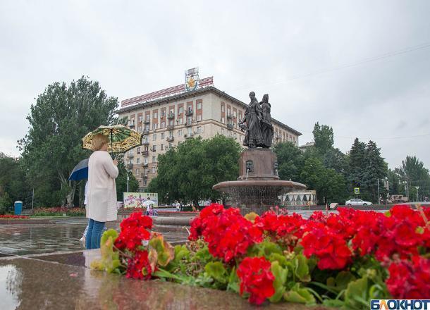 Новая рабочая неделя в Волгограде начнется с дождей и гроз