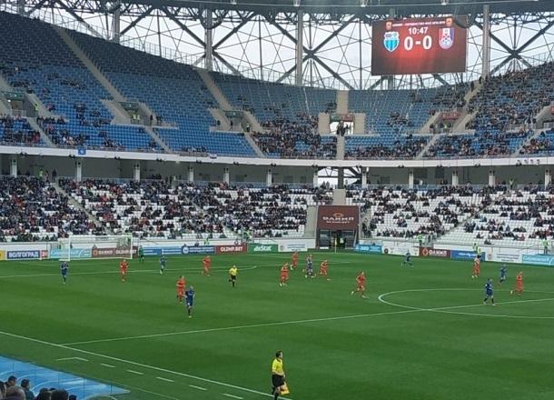 Матчи волгоградского «Ротора» пользуются популярностью среди фанатов