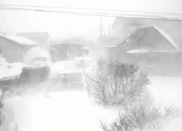 Сильный ветер инизовую метель прогнозируют синоптики врайонах Волгоградской области