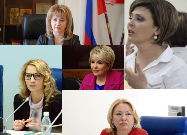 Топ-5 самых красивых женщин волгоградской политики