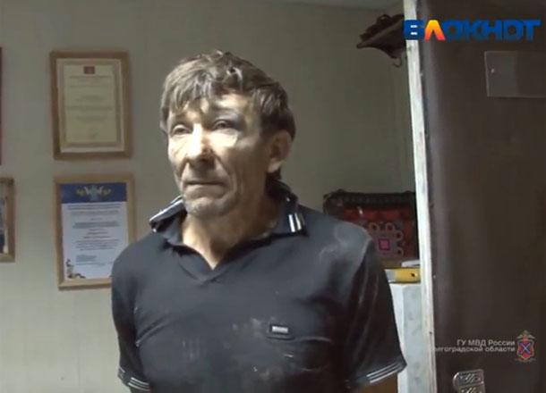 «Блокнот Волгограда» публикует видео допроса убийцы 5-летней Сони из Калача