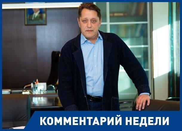 Волгоградский общественник передал пламенный «привет» ленинградцам