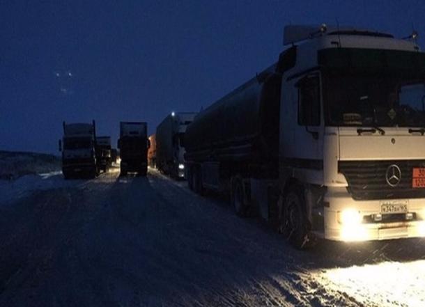 Из-за непогоды закрыли дорогу для пассажирского транспорта вРостовской области
