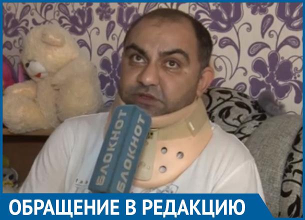 Отца пятерых детей парализовало через полгода после ДТП в Волгограде