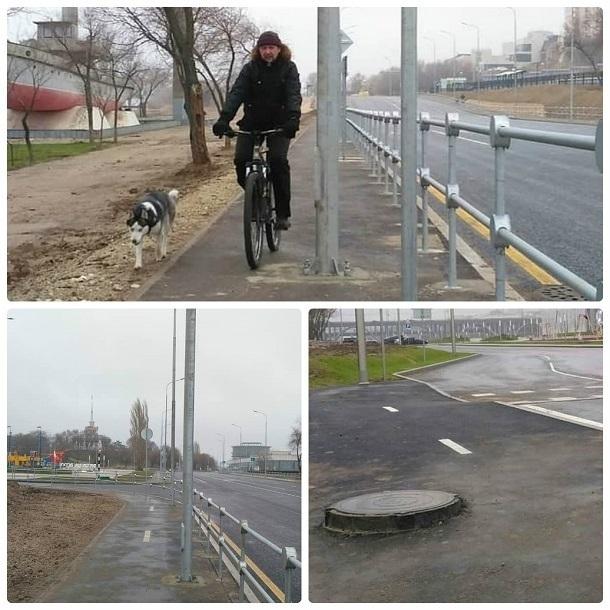 Власти подарили волгоградцам опасную для жизни велодорожку вдоль набережной