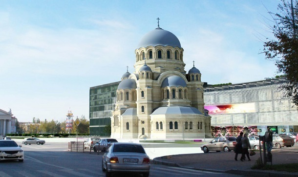 Крупные бизнесмены и руководители заводов проследят за строительством собора Александра Невского