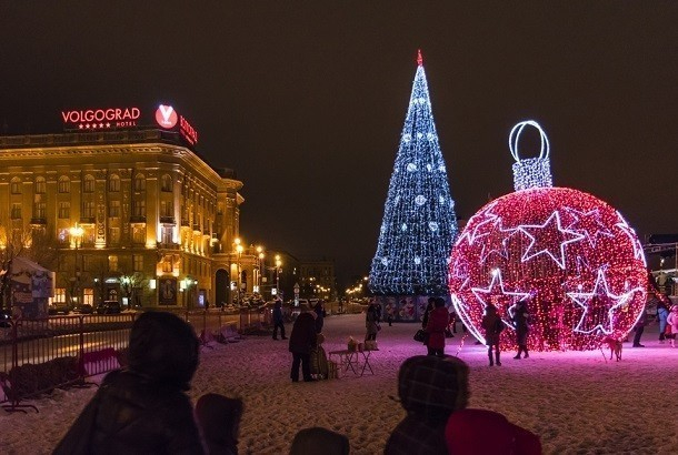 20-метровую новогоднюю елку украсят вВолгограде ксередине декабря