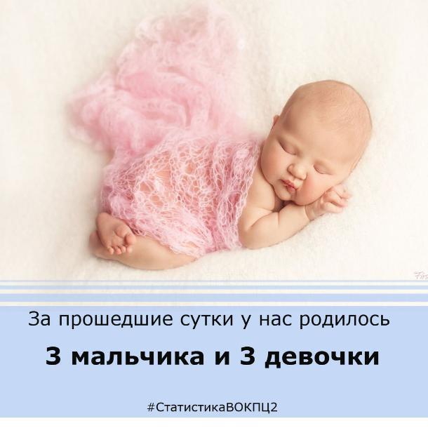 В день медсестры в Волгограде родились шесть малышей