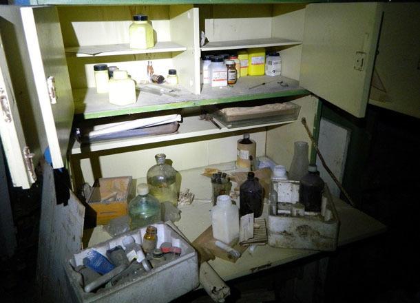 Волгоградские сталкеры сняли на видео, что скрывается в зловещей лаборатории больницы