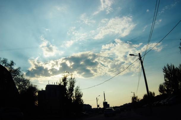 Дожди покинули Волгоградскую область