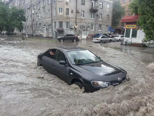 Волгоградцы публикуют ужасающие фото потопа