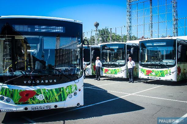 Автобусы Волгограда перевезли с начала года целую Германию