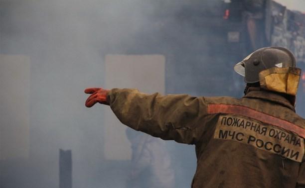 Напожаре вСредней Ахтубе спасли 67-летнего мужчину