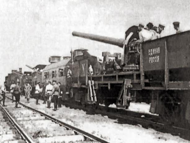 Календарь: 17 мая 1919 год - Царицын награжден орденом Красного знамени
