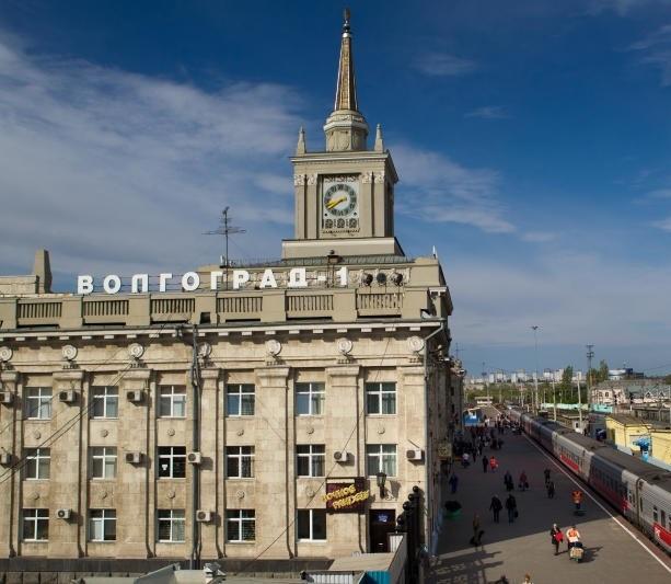 Волгоградцам рассказали, как будут переводиться стрелки на часах железнодорожного вокзала