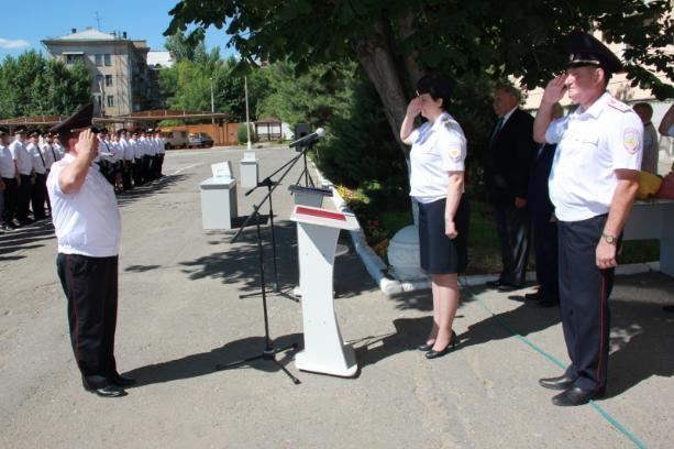 В Волгоградской академии МВД прошел выпуск заочников