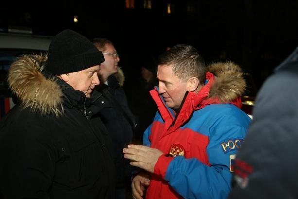 Андрей Бочаров демонстрирует очередное падение