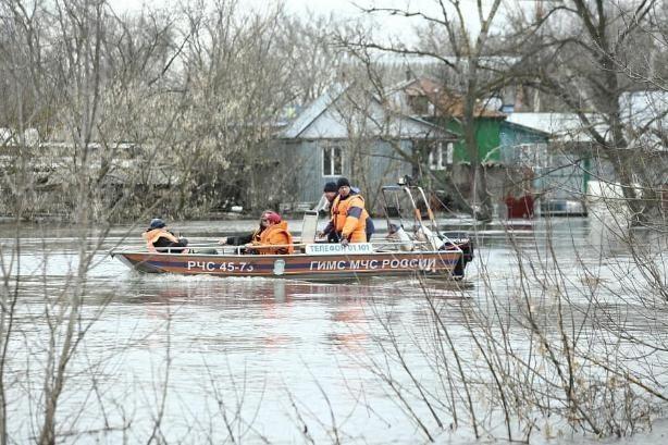 В Волгоградской области все еще затоплены 50 дворов