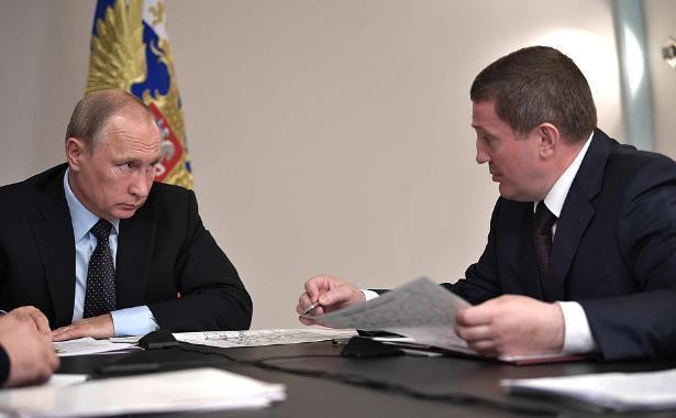 Владимир Путин предложил простить регионам долги