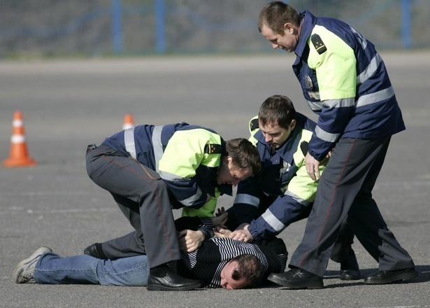 Полицейские устроили погоню за маршруткой в Волгограде