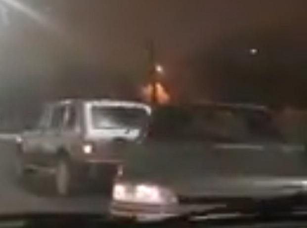 Скользкая дорога привела к столкновению пяти автомобилей в Волгограде