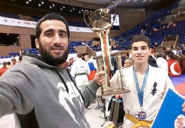 Чемпиона мира по карате киокусинкай Тельмана Мамедова поздравили сегодня в Волгограде