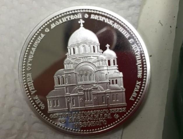Волгоградцы смогут заложить в основание нового храма именные монеты