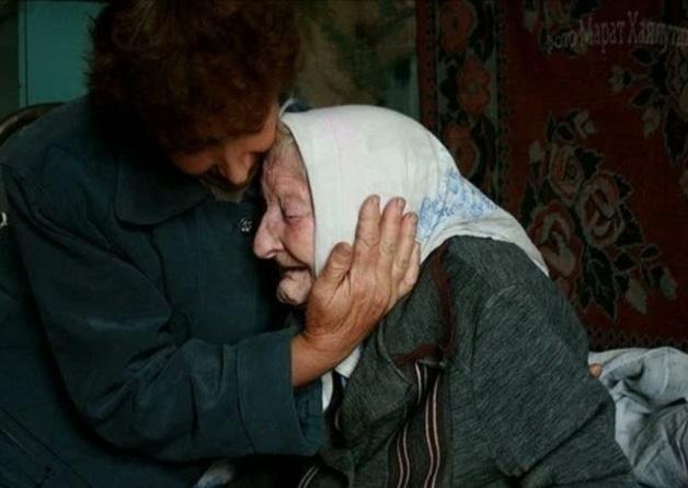 В Волгограде 76-летняя хрупкая старушка задушила сына сеткой